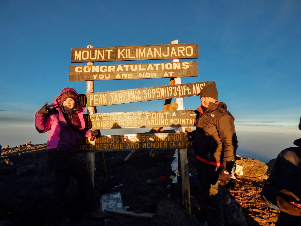We recommend choosing a Kilimanjaro route with a high success rate so you too can stand at the top of Africa!