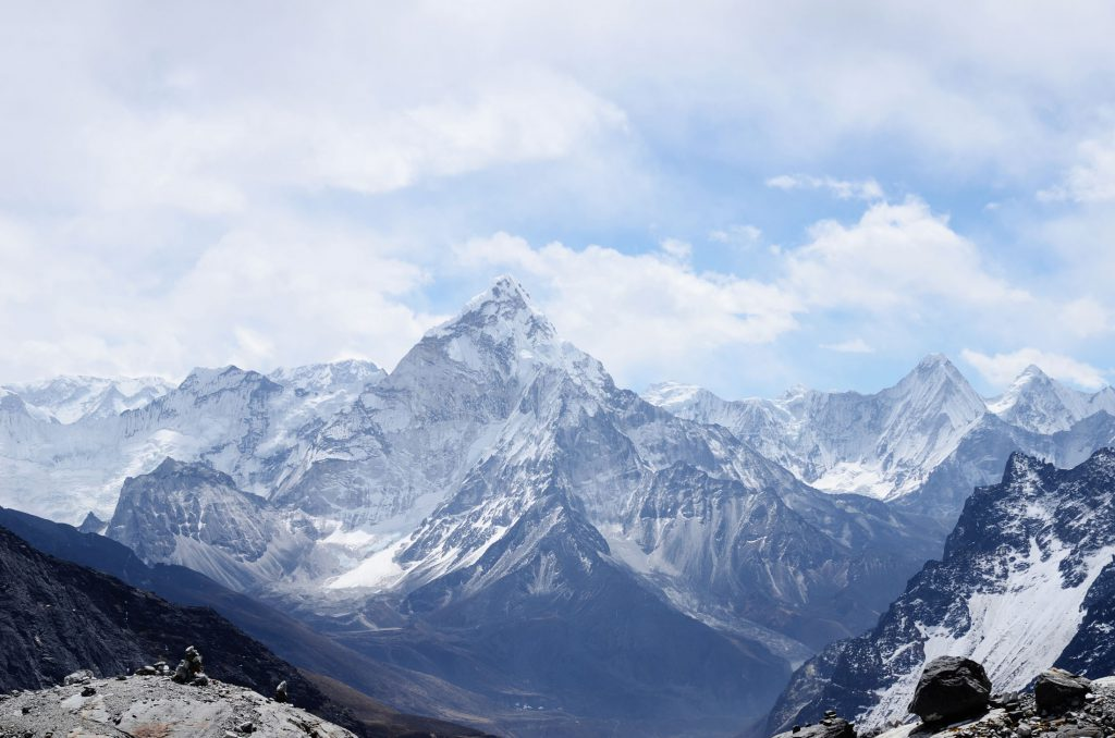 The Everest Base Camp route brings you into close quarters with some of the highest mountains in the world