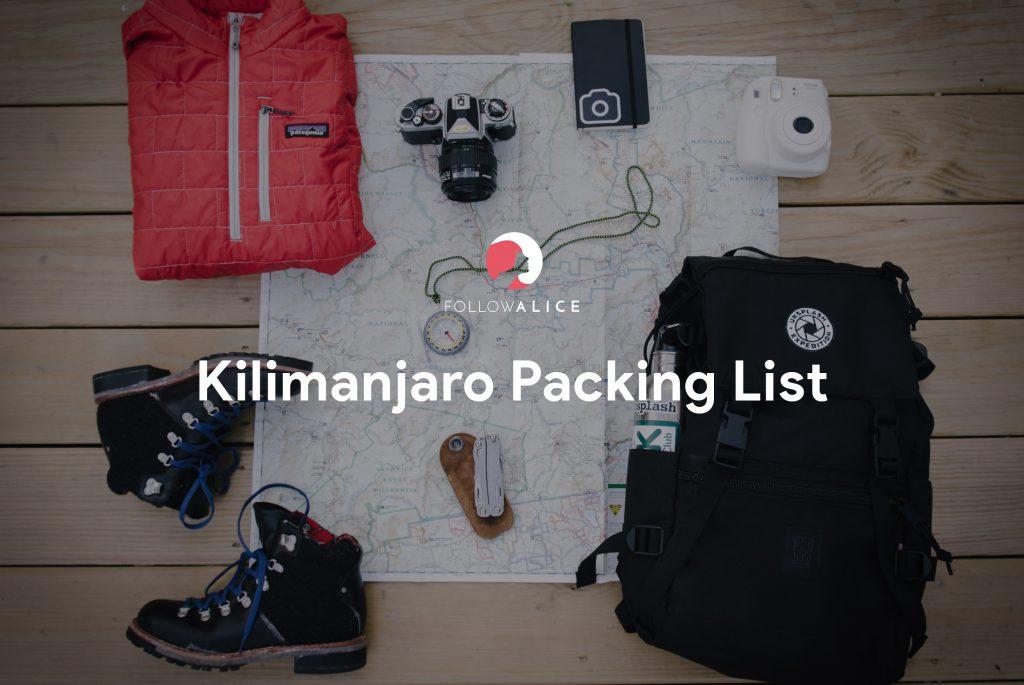 kilimanjaro-Packing-List