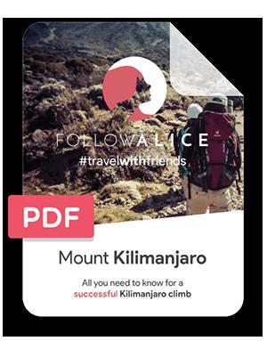kilimanjaro pdf