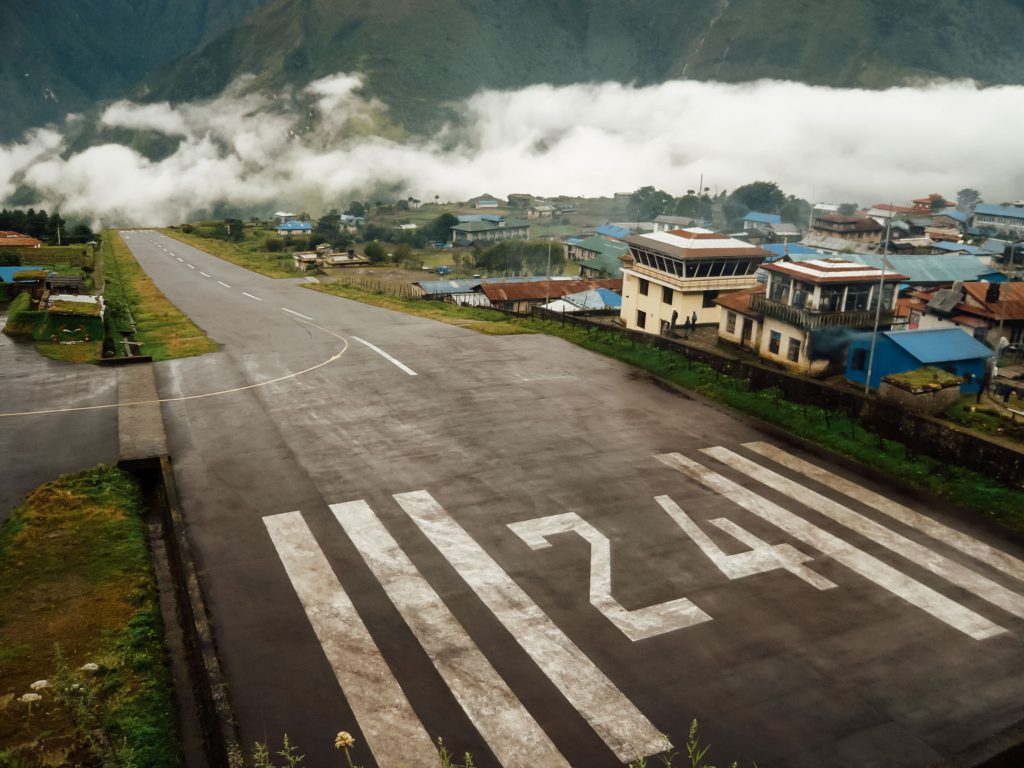 Lukla Airport is the gateway to the Everest Base Camp trek