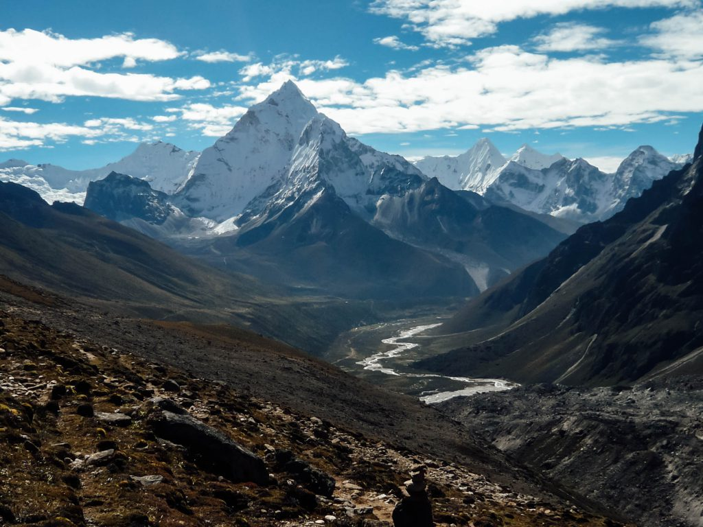 The views on the Everest Base Camp and Annapurna Circuit treks are spellbinding
