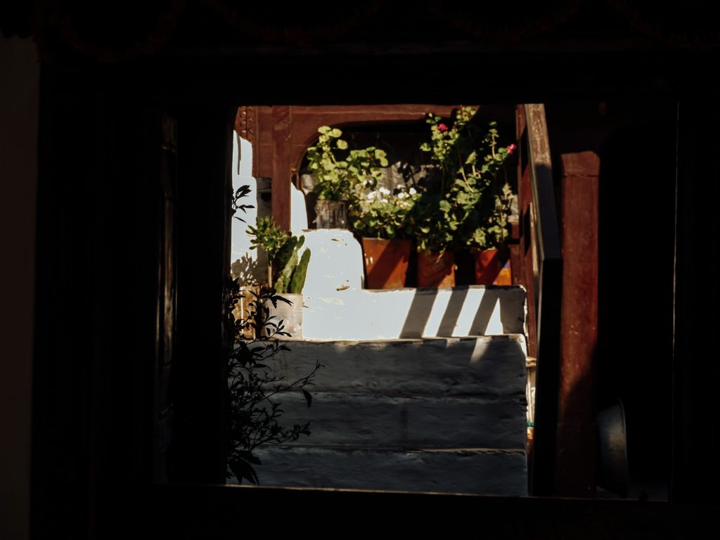 Village doorway