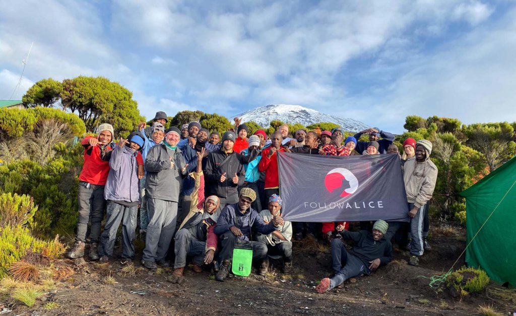 Group photo Kilimanjaro adventure trip