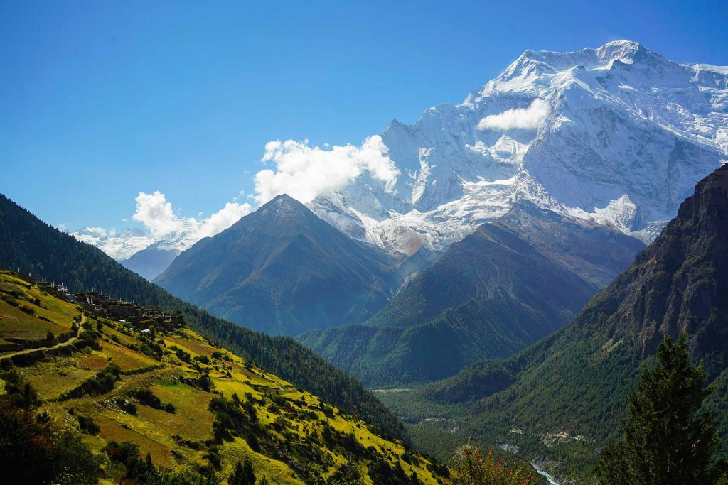 Pisang Valley in Annapurna